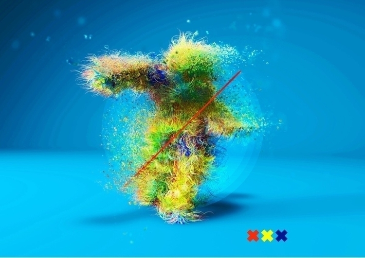 Hairy Dancer 1/10 _ Follow  - thedesignfix_ - amykilnerdesign | ello