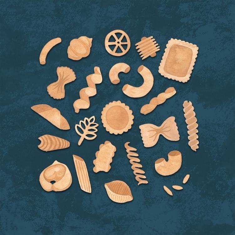 desperate pasta - art, illustration - zowiegreen | ello