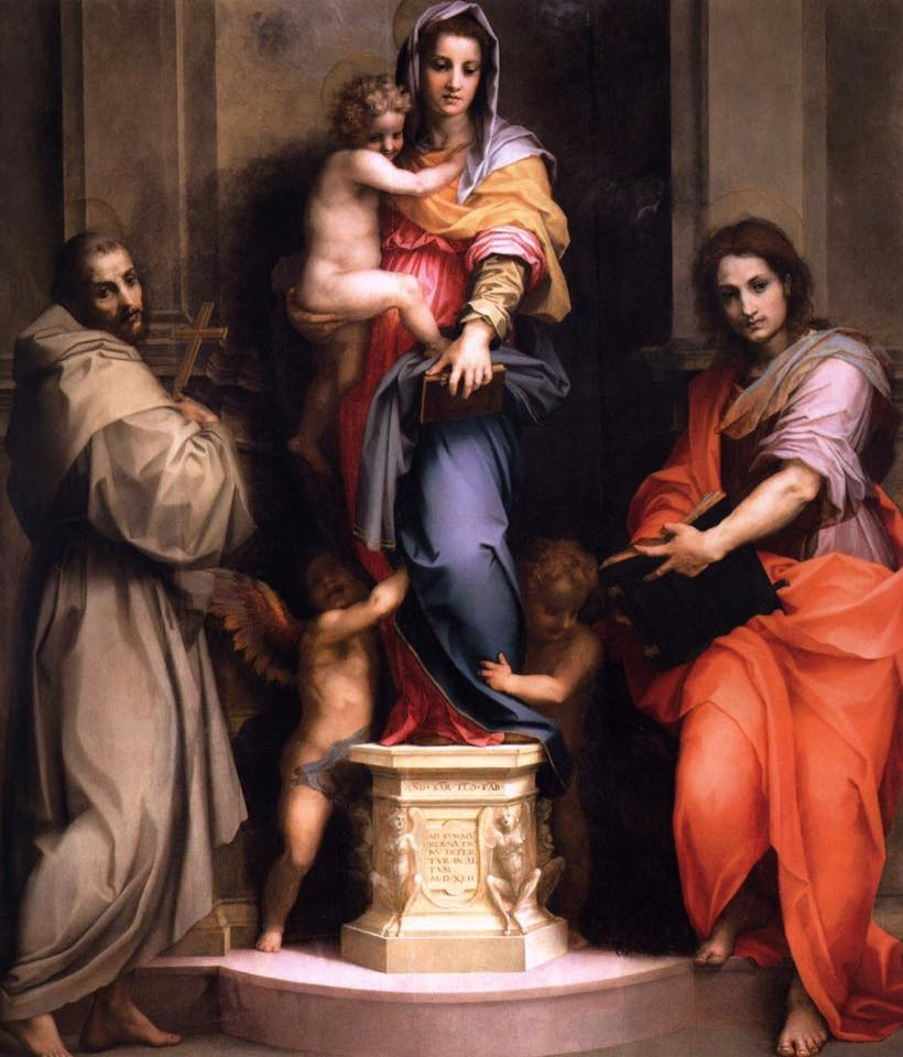 Andrea del Sarto, Madonna delle - rossyy | ello