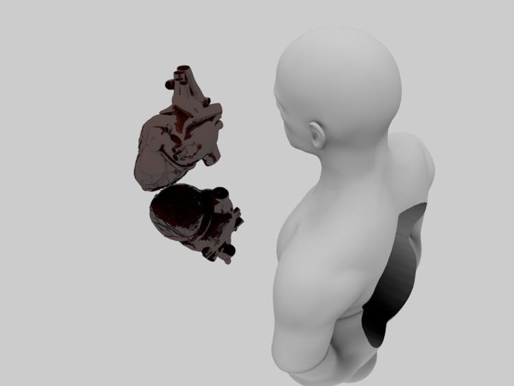 Hollow - 3d, render, cinema4d, digitalart - matthaugusto | ello