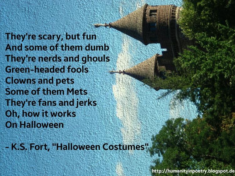 Phoetry Halloween Costumes - nyc - humanityinpoetry | ello