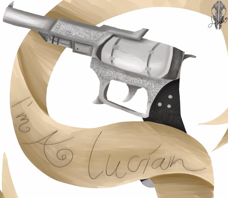Prompto (ffxv) weapon - aiden_sonebi | ello