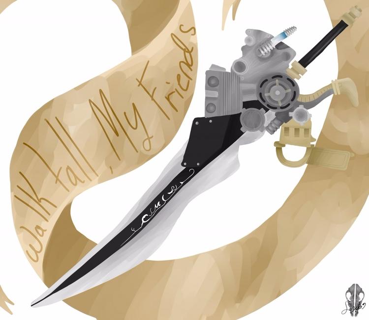 Noctis (ffxv) weapon - aiden_sonebi | ello