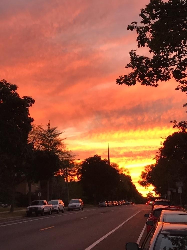 Wednesday evenings sunset UW Mi - starmanri | ello