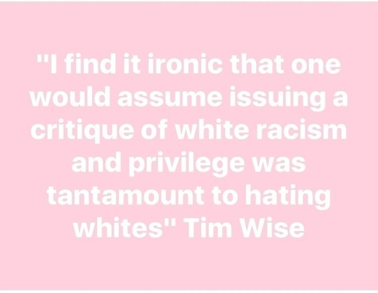Calling white racism privilege  - trulyjane | ello