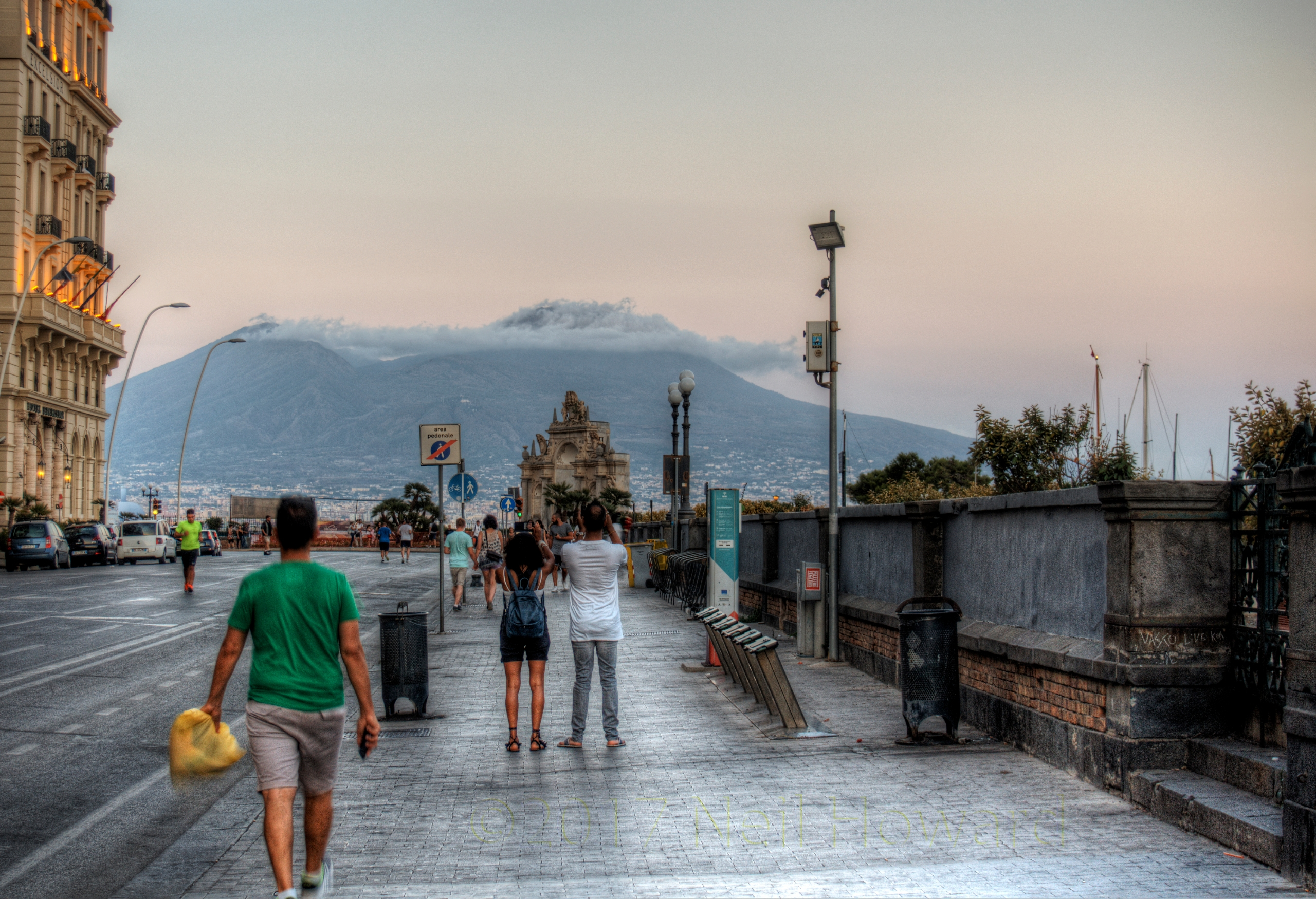 Mount Vesuvius - Clouds sit top - neilhoward   ello