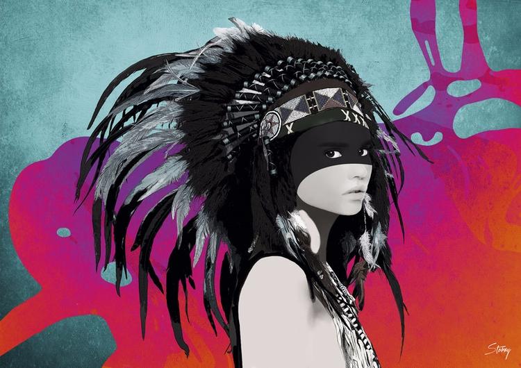Digital Natives - Illustration  - storoy   ello