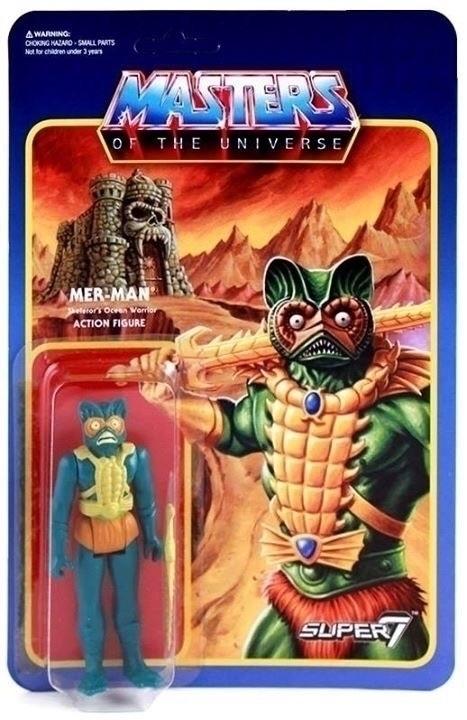 Mer-Man Masters Universe Super7 - ellotoys | ello