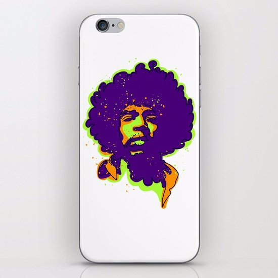 rock star/IPHONE SKIN IPHONE 8 - babakesmaeli | ello