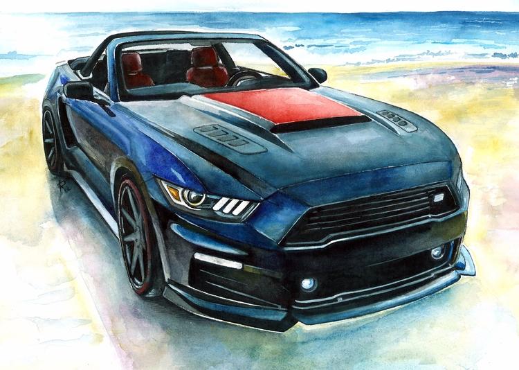 Mustang - ford, mustang, roush, fordmustang - rufinaartisr | ello