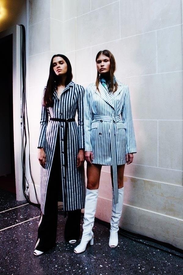 Exclusive backstage shots Krist - fashionsnap | ello