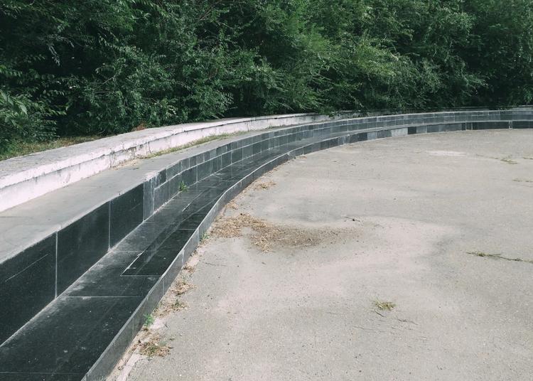 Curve - curve, bend, parapet, asphalt - andreigrigorev   ello