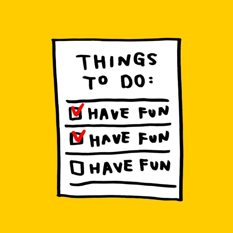 important list - illustration, fun - mickeygogo | ello