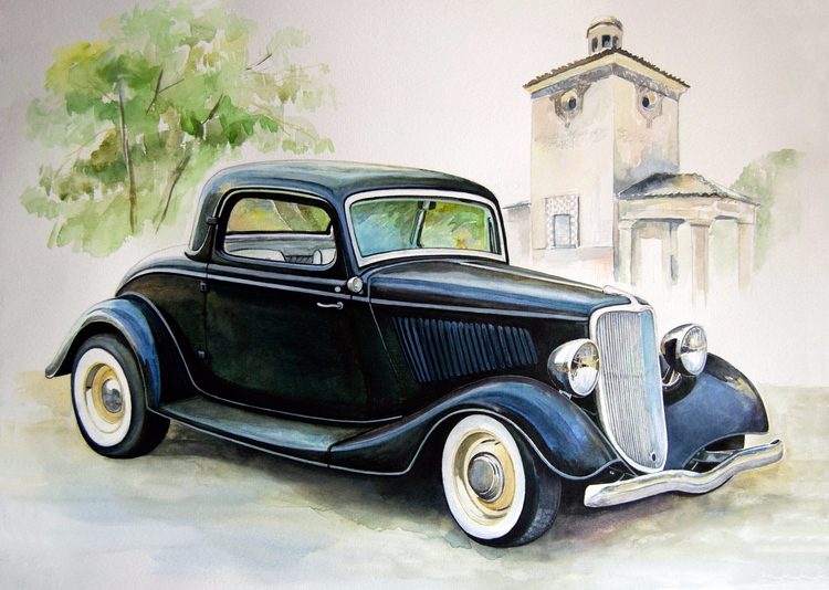 1933 Ford 3 Window Coupe Steel - rufinaartisr | ello