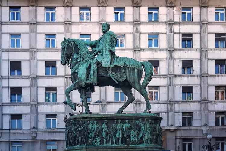 Prince Mihailo Monument erected - peter_kurdulija | ello
