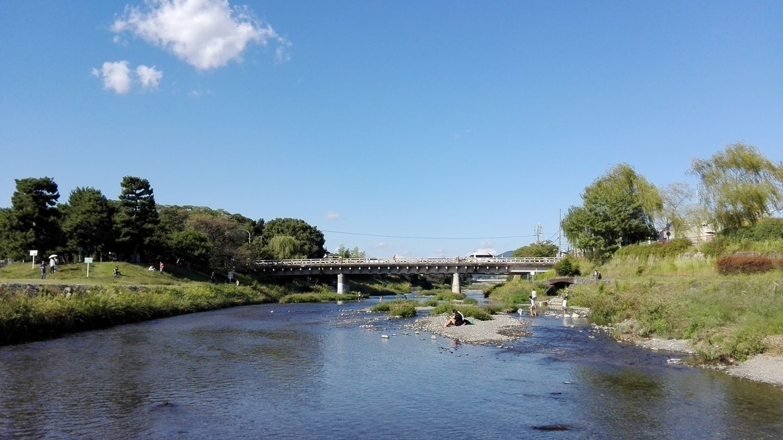 beautiful day River  - Kamo, Kyoto, - sanftekuss | ello