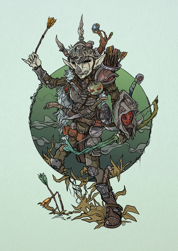 Goblin - illustration, artwork, drawing - shugmonkey | ello