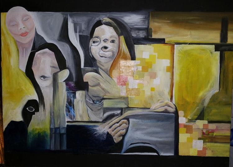 painting - tzikitina   ello