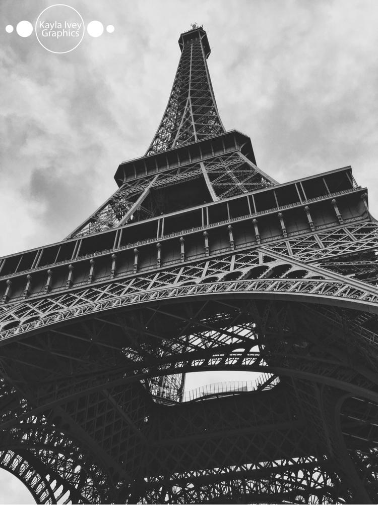 France - eiffeltower, paris, france - kaylaivey   ello