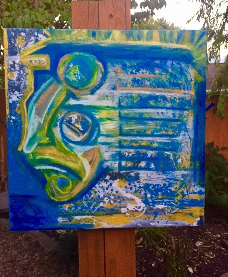 Pharaoh! art - modernart, abstract - nash-heff | ello