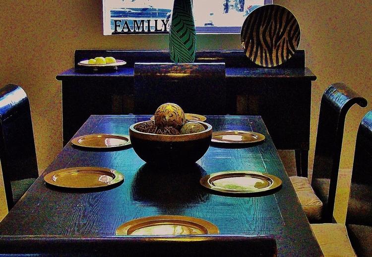 Dining room - home, house, plates - sirhowardlee   ello