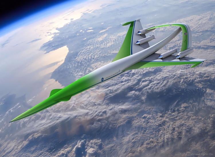 Supersonic Green Machine - airplane - valosalo   ello