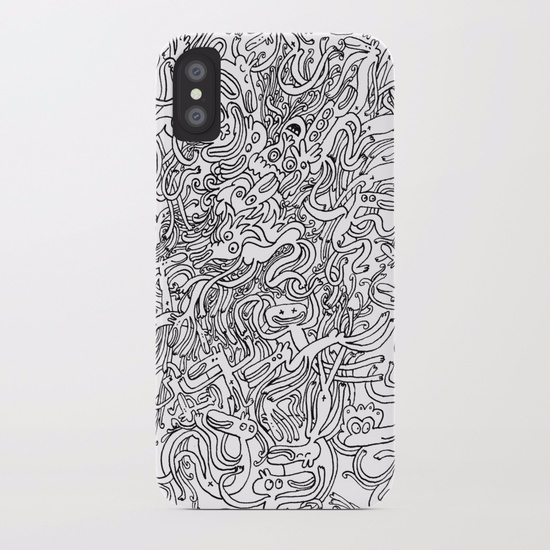 Garbled II IPHONE CASE SLIM Blo - babakesmaeli | ello