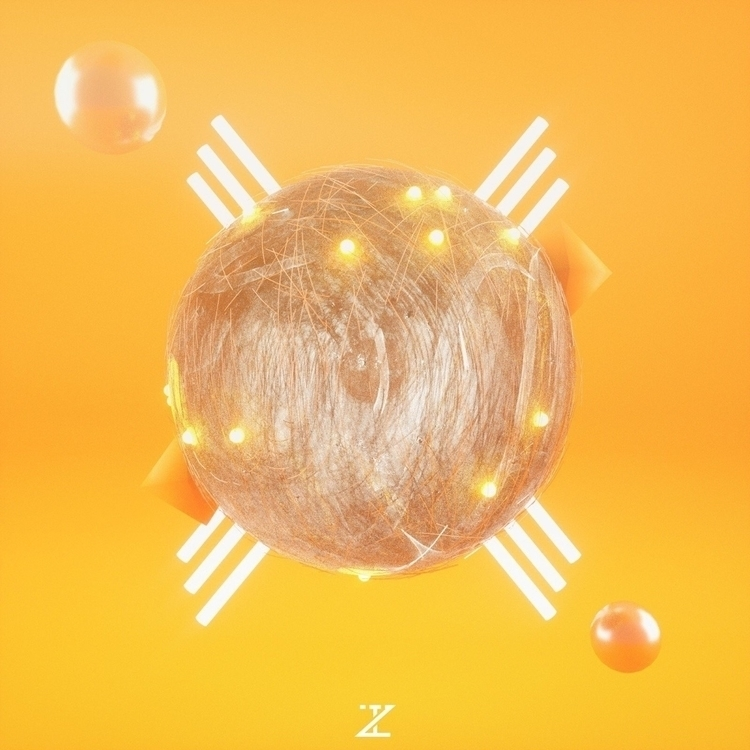 [01/10/17] Orange Eye - cinema4d - ipnoz | ello