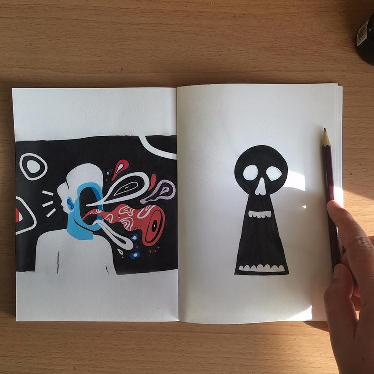 Sketchbook Sundaze - colmcelwaine | ello