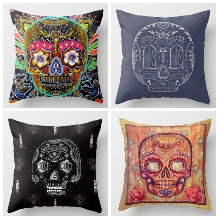 Halloween throw pillows! pillow - trinkl | ello