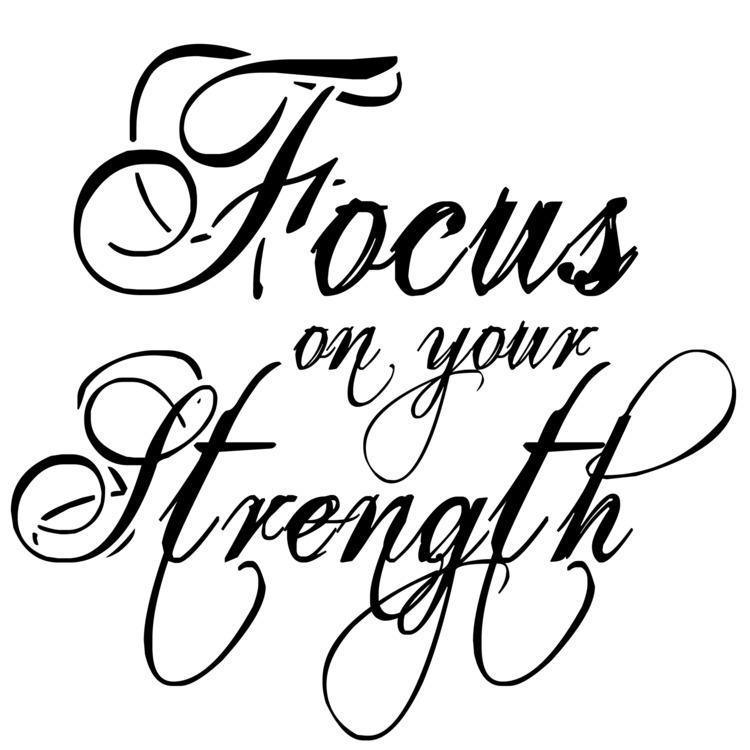 Focus Strength - caballero, blogger - maveez | ello