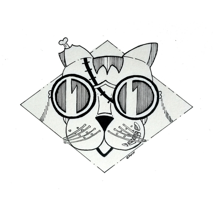 Drawlloween - (Kitty) Return de - edwln | ello