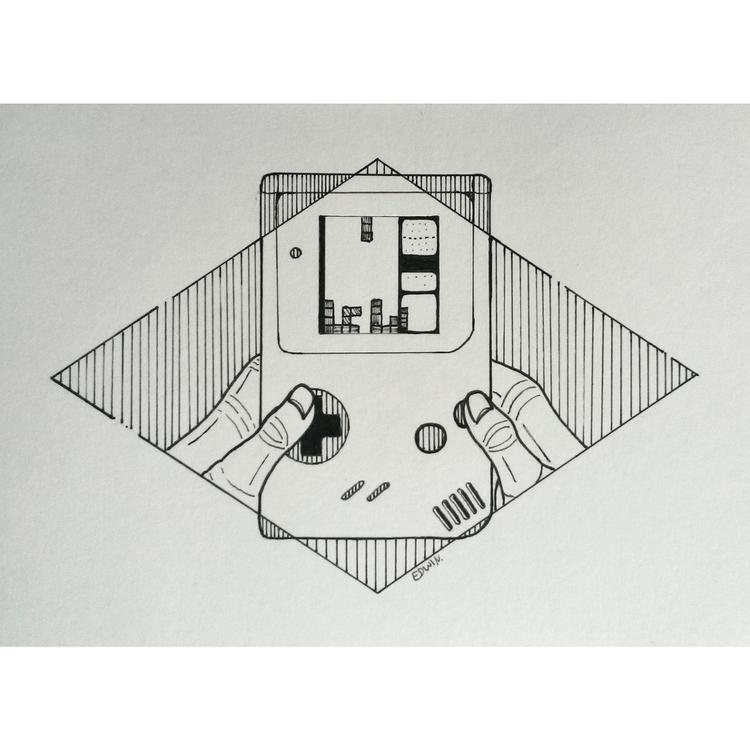 | - Tetris 27.9.2017 find - draweveryday - edwln | ello