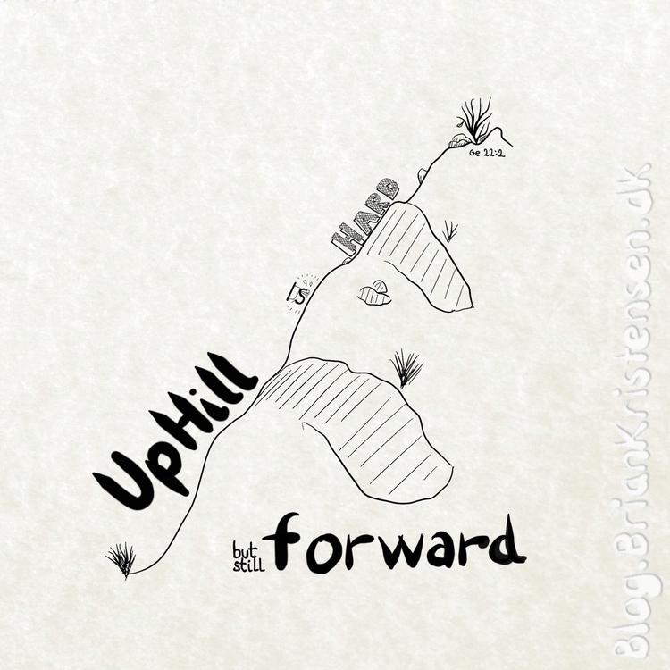 Uphill, hard - art2u | ello