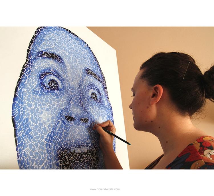 Working painting Theatrum - Art - veerleritstier | ello
