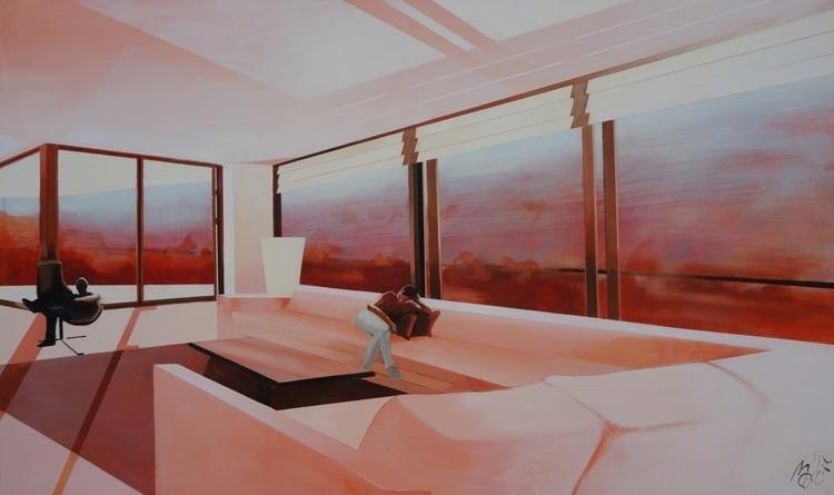 Lethargia 2017 - acrylic canvas - maritotto | ello