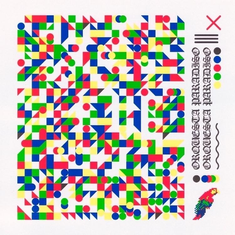 Artwork Orquesta debut album Is - lxtxcx   ello