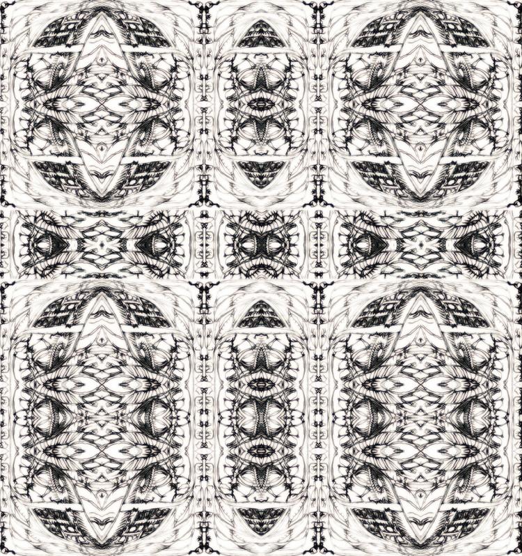 lecter - drawing, Collage, illustration - tsun-zaku | ello
