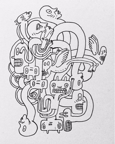 Sketshbook Blog / Shop Instagra - babakesmaeli | ello