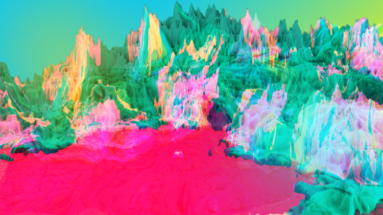 Spectral - 3D, Art, Psychedelic - jpig   ello