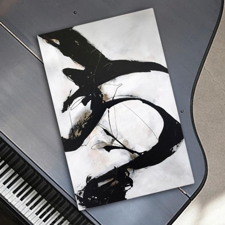 Overture, acrylic canvas, 24x36 - lynettemelnyk | ello