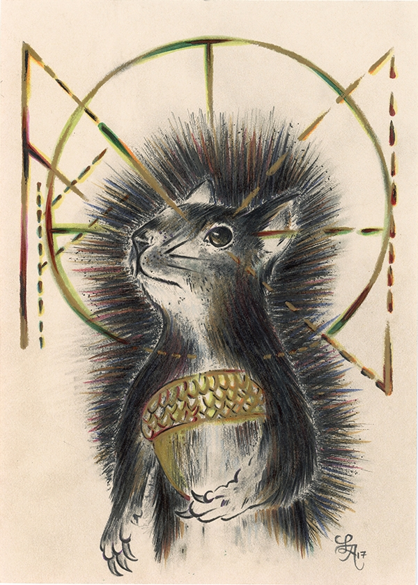 Squirrels busiest powerful autu - letters | ello