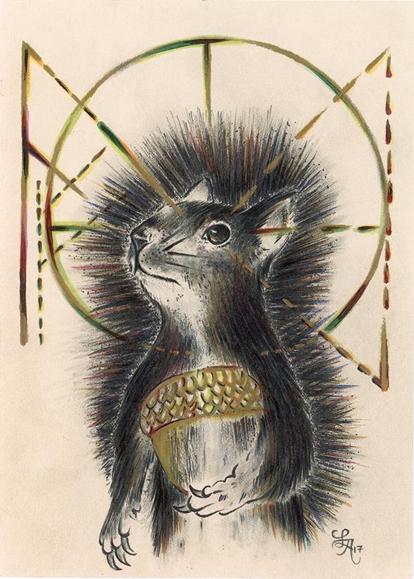 Squirrels busiest powerful autu - letters | ello