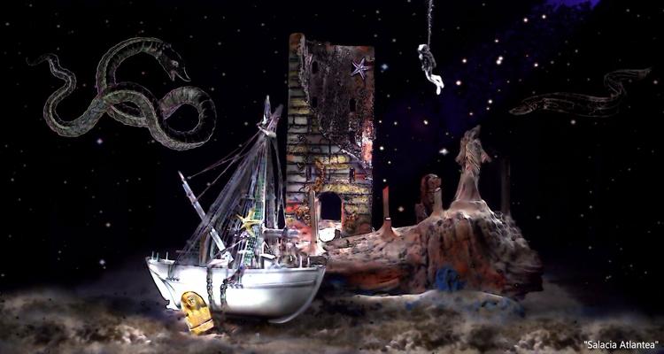 Salacia Atlantea Surreal Seas G - greycrossstudios | ello