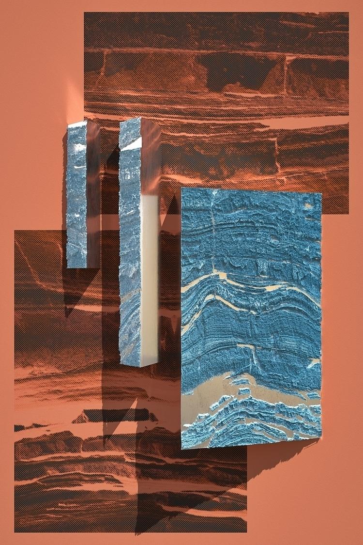 Rock Steel - Poster, 2D, 3D, Illustration - aaaronkaufman   ello