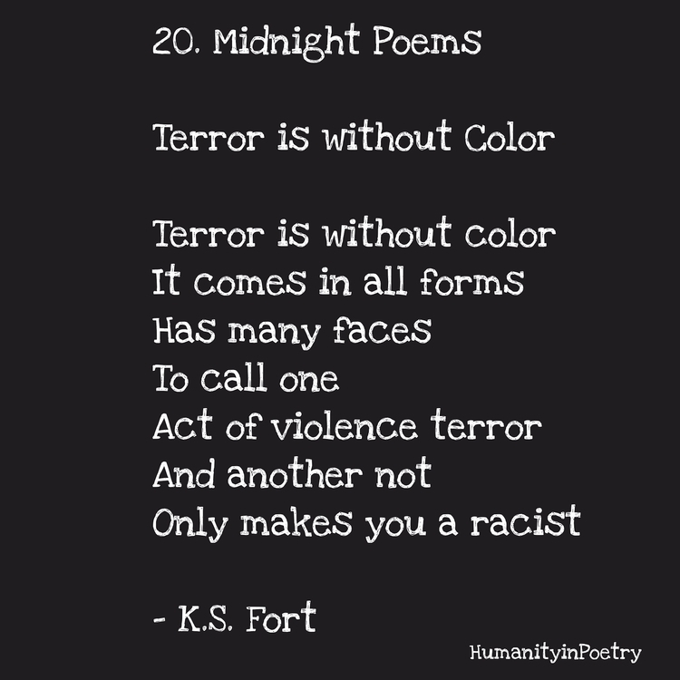 Link Poem, Terror Color - poetry - humanityinpoetry | ello