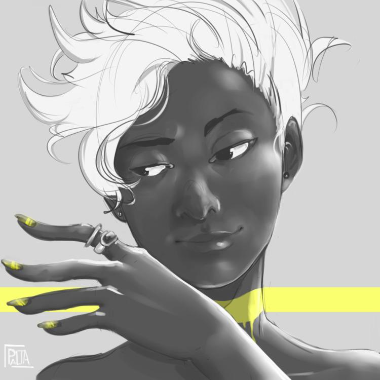drawing, yellow - paltamayo | ello
