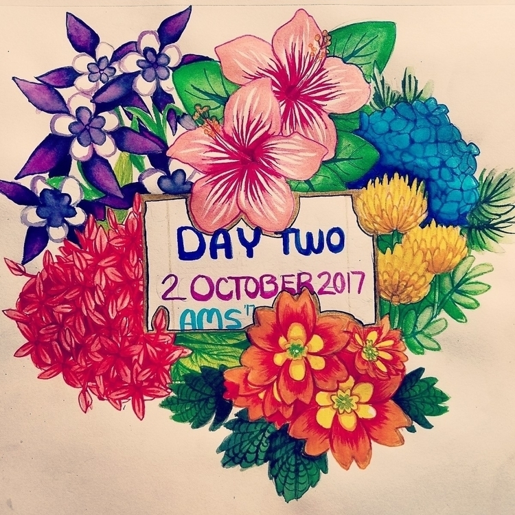 Day 2: Flowers || Week 1: coupl - canorius | ello