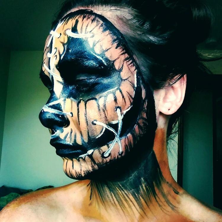 Pumpkin face - bipolarbeauty | ello