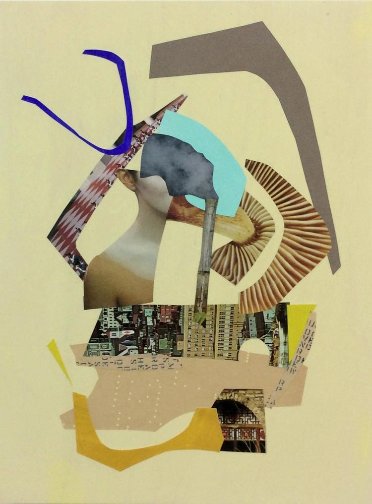 Rooms, 16 12 paper, collage, pa - kathleenreichelt | ello